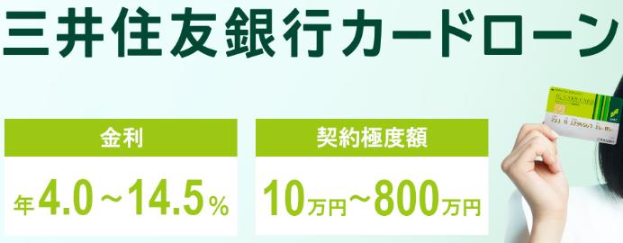 カード 銀行 三井 ローン 住友